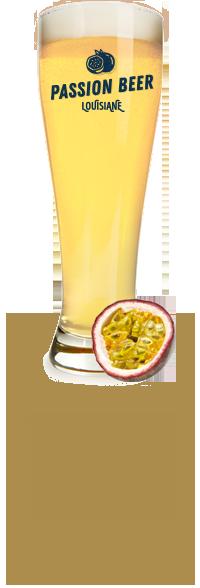 Louisiane Brewhouse Craft Beer Restaurant Passion Beer Description