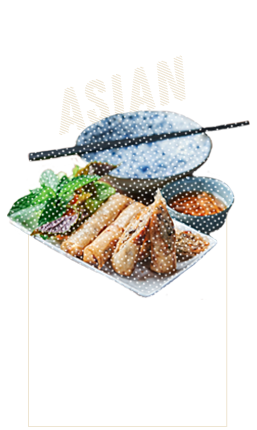 Louisiane Brewhouse Craft Beer Restaurant Cuisine Asian Food Spring Rolls