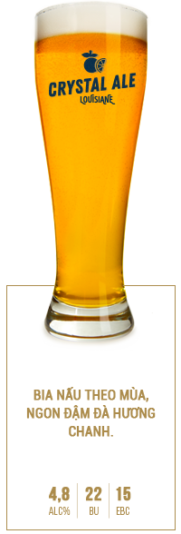 Louisiane-Brewhouse-Craft-Beer-Restaurant-Selection-Crystal-Ale-VN