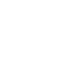 Louisiane Brewhouse Craft Beer Restaurant Logo White