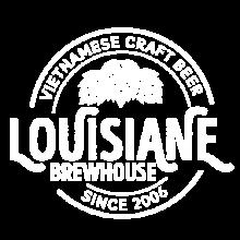 Louisiane Brewhouse Craft Beer Restaurant Logo White